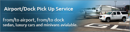 Airport/Dock pick-up service